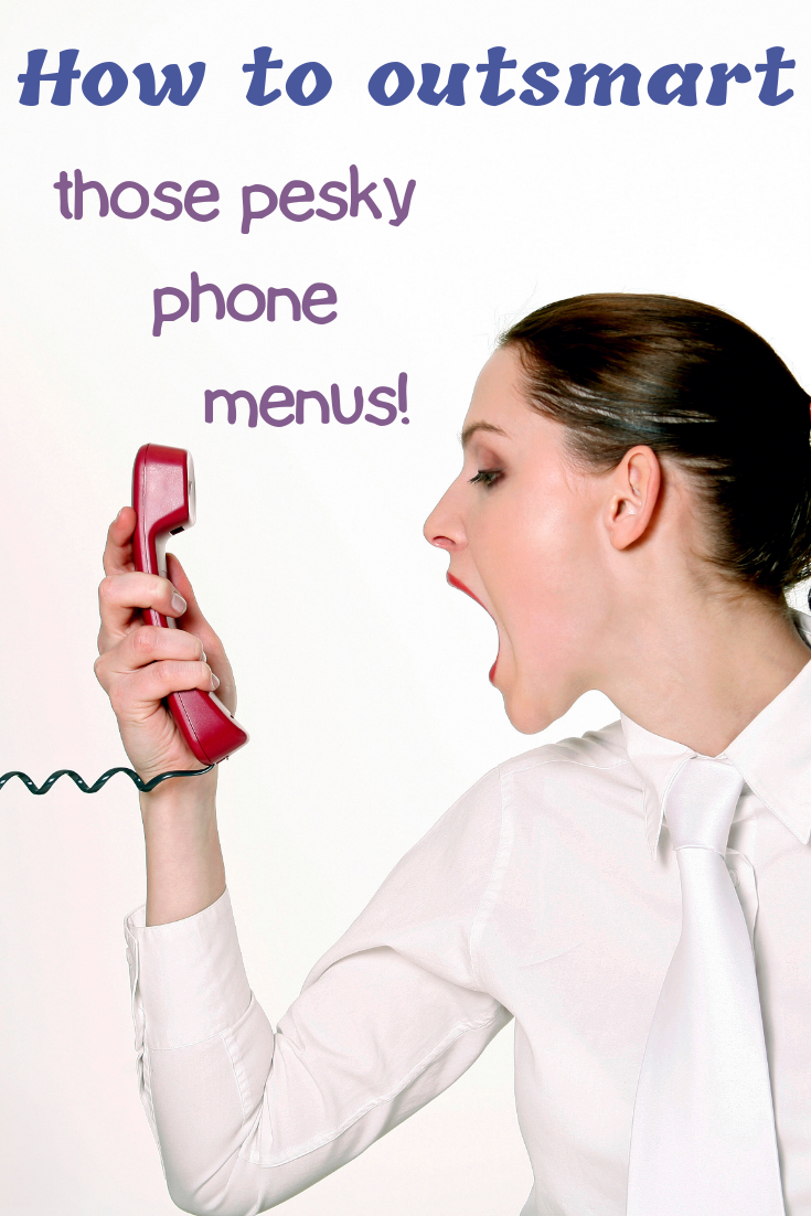 How to outsmart phone menus