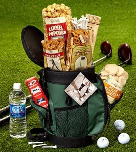 1800 flowers golf snack bag for Father's Day
