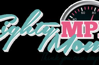 Eighty MPH Mom Logo