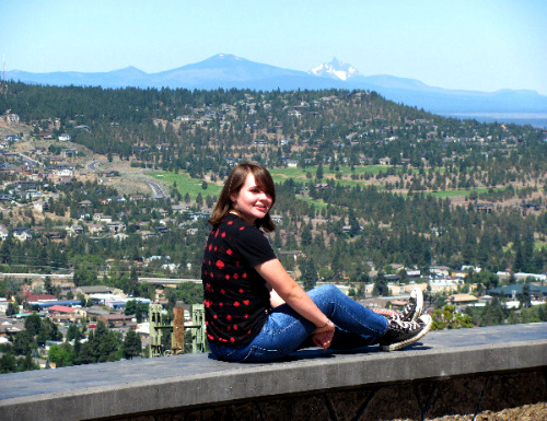 Vacation time in Bend, Oregon - Pilot Butte