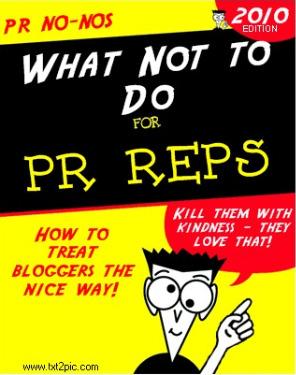 Rude PR Reps