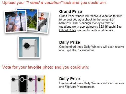hotels.com I need a Vacation sweepstakes