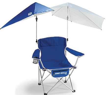 SportBrella Chair review and giveaway, portable umbrella chairs