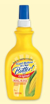 I Can't Believe it's Not butter, butter flavored cooking spray,nonfat cooking spray