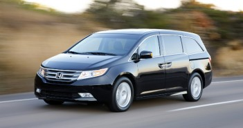 The new 2011 Honda Odyssey Touring Elite,2011 Honda Odyssey press event
