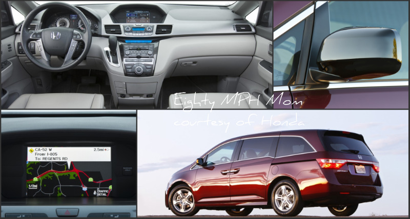 2011, Honda, Odyssey,features,interior