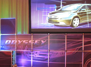 La Jolla, 2011, Honda Odyssey, Press Event,Touring Elite