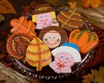 Gift Guide: Cookie Gallery Thanksgiving Cookies