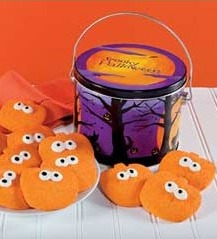 Halloween cookies,Halloween food gifts,