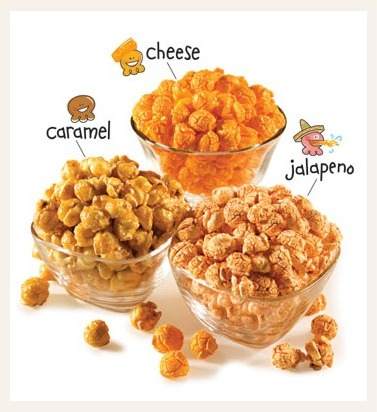 The Popcorn Factory try me trio,popcorn gifts,halloween gifts