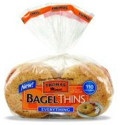 bagel companies,bagel thins, healthy alternatives to bread