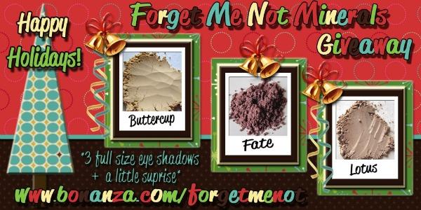 mineral eyeshadows,natural eyeshadows,makeup giveaways