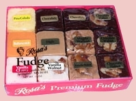 Rosa's Fudge,fudge gifts,gourmet food gifts