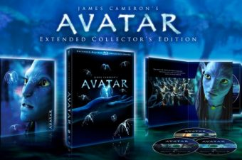 Avatar Extended Edition on Blu Ray