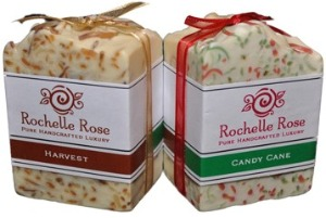 Holiday soaps,handcrafted soaps