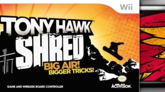 Gift Guide: Tony Hawk SHRED for Wii Review