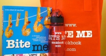 Bite Me Prize Pack giveaway,cookbook giveaways,funny cookbooks