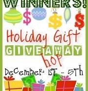 Holiday Gift Blog Hop Winners