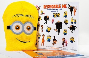 Despicable Me Prize DVD Prize Pack