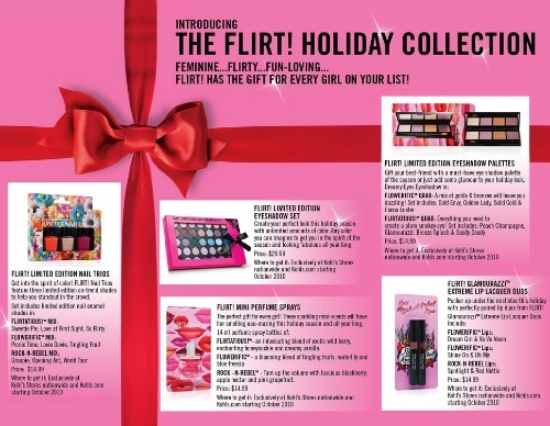 flirt makeup collections,perfumes for teens,Flirt flower fragrance