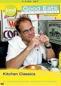 food network DVD's,cooking shows on dvd,Alton Brown DVD sets
