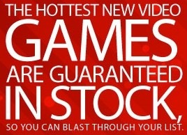 in stock video games at Game Stop,In Stock Guarantee