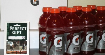 Dick's Sporting Goods gift card giveaway,Gatorate drinks,sports drinks