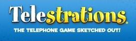 Family board games, Telestrations game for families