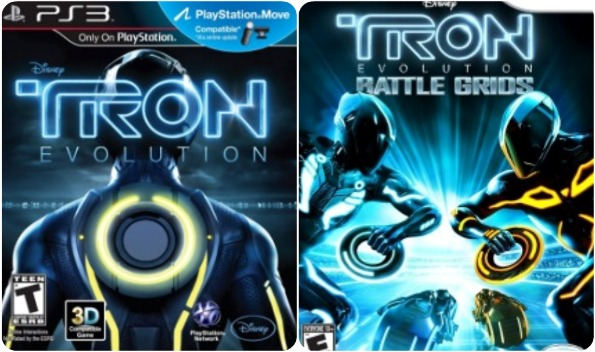 TRON Evolution Wii giveaway,TRON Playstation 3 video game,