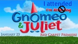 Gnomeo and Juliet Red Carpet Premiere Blogger Event Hollywood