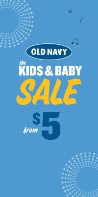 Old Navy Kids & Baby Sale, Old Navy coupons,