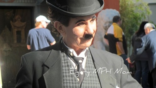 Charlie Chaplin on Hollywood Blvd., Hollywood events, Gnomeo and Juliet Premiere