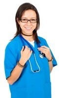Colorful nurses scrubs, lab coats, themed nurse scrubs
