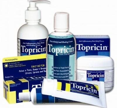 creams for sciatica, burns, carpal tunnel