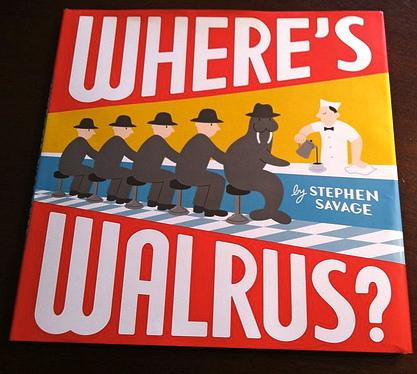 preschool books, books with walruses