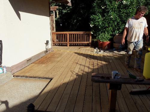 composite decking easy to install, alternatives to redwood decking