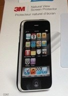3M Natural View Screen Protector for iPhone 3GS