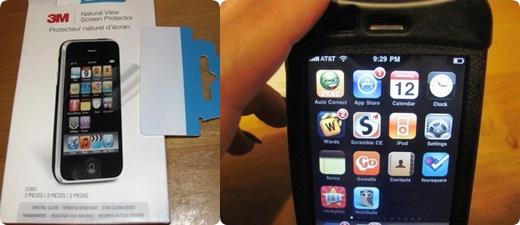 iPhone screen protectors, iPad screen protector