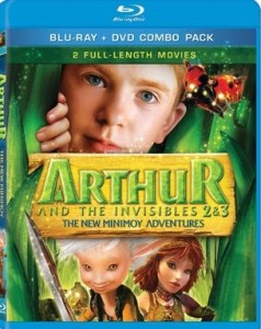 Arthur and the invisibles 2 & 3,
