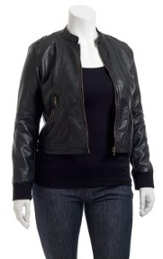 plus-size faux leather jackets, plus sized sweaters