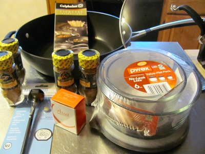 healthy pork recipes, cookware giveaways,