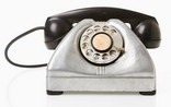 what does a rotary phone look like