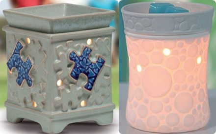 Scentsy warmers for Mother's Day, flameless candles