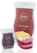 scentsy warmers, scented flameless candles