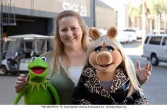 The Muppets Movie – I met Kermit and Miss Piggy!