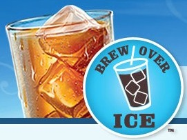 Cool off this summer:  Coffee and tea over ice with K-cups!