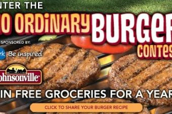 "National Johnsonville ""No Ordinary Burger"""