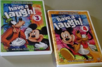 Disney's Have a Laugh Volumes 3 and 4 on DVD Giveaway