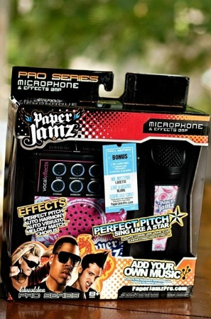 paper jamz microphone instructions