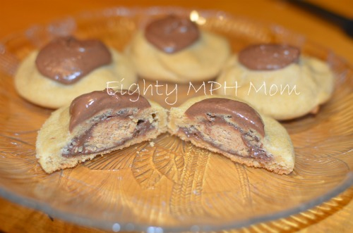 used to make these Peanut Butter Cup Surprise cookies years ago, and ...